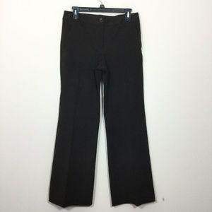 Talbots Size 4 Brown Stretch Dress Pants